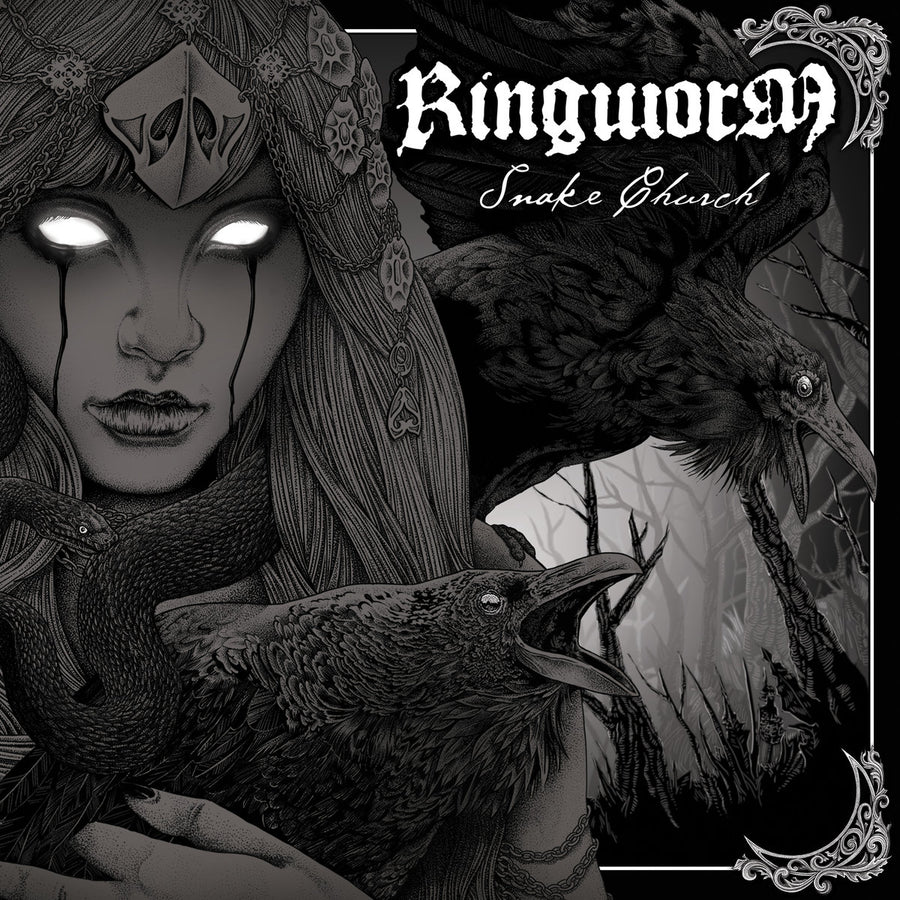 "RINGWORM ""Snake Church"" CD"