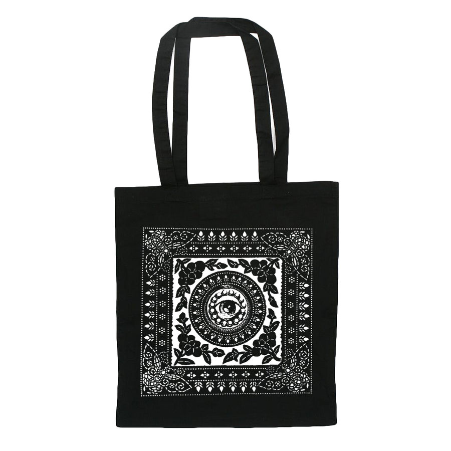 "RISE AND FALL ""Eye"" Tote Bag"