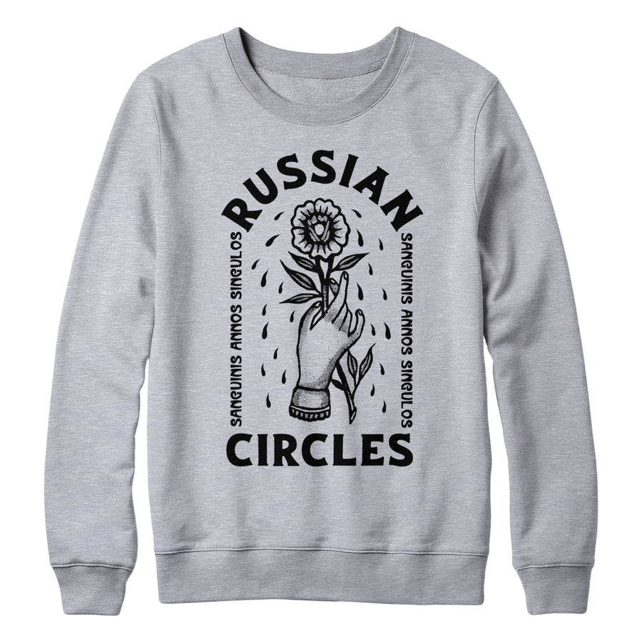 "RUSSIAN CIRCLES ""Flower"" Crewneck"