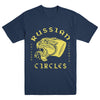 "RUSSIAN CIRCLES ""Panther Indigo Blue"" T-Shirt"