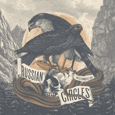 "RUSSIAN CIRCLES ""Live At Dunk! Fest"" 2xLP"