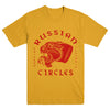 "RUSSIAN CIRCLES ""Panther Yellow"" T-Shirt"