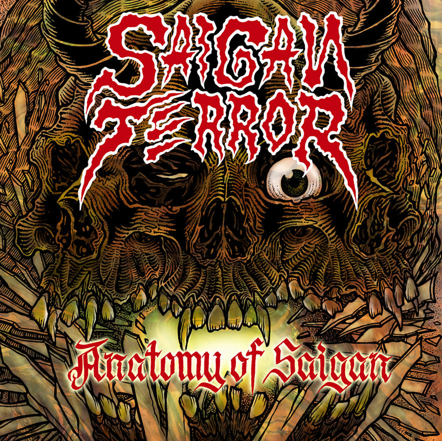 "SAIGAN TERROR ""Anatomy Of Saigan"" LP"