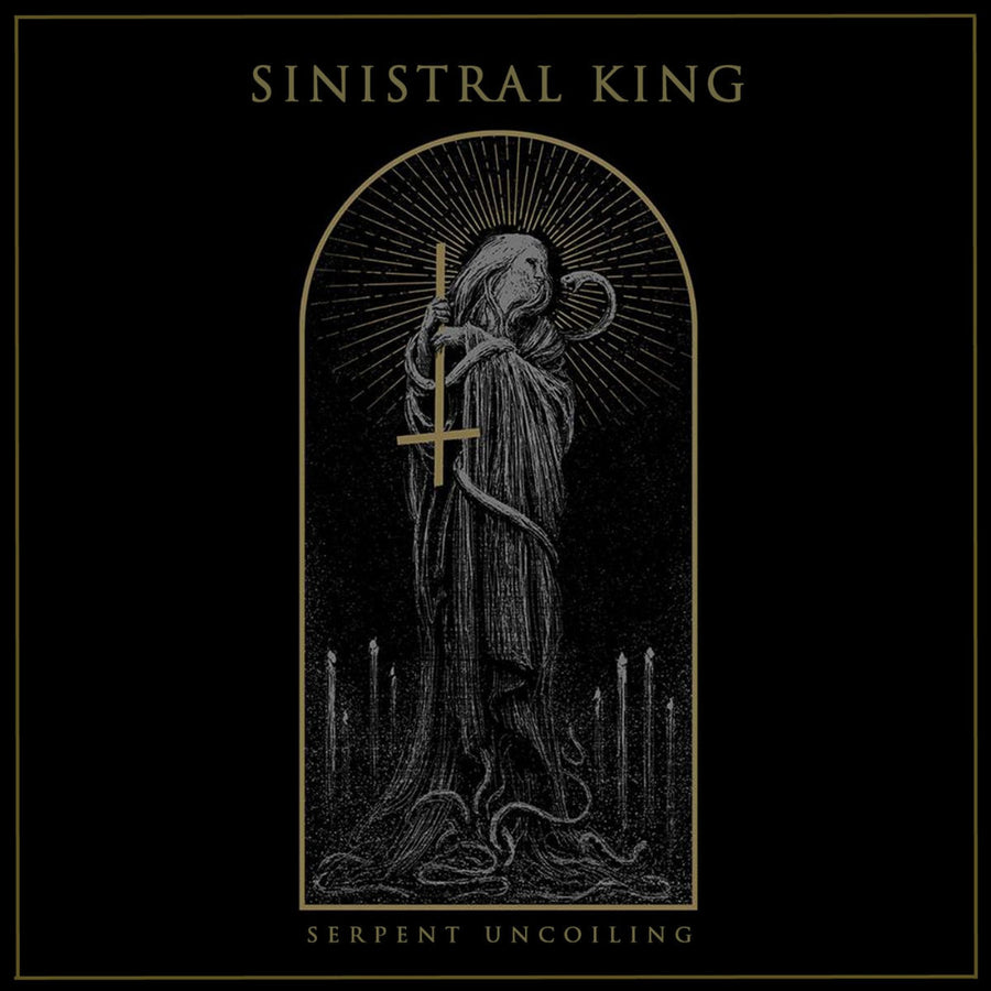 "SINISTRAL KING ""Serpent Uncoiling"" LP"