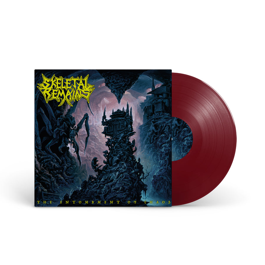 "SKELETAL REMAINS ""The Entombment Of Chaos"" LP + CD"
