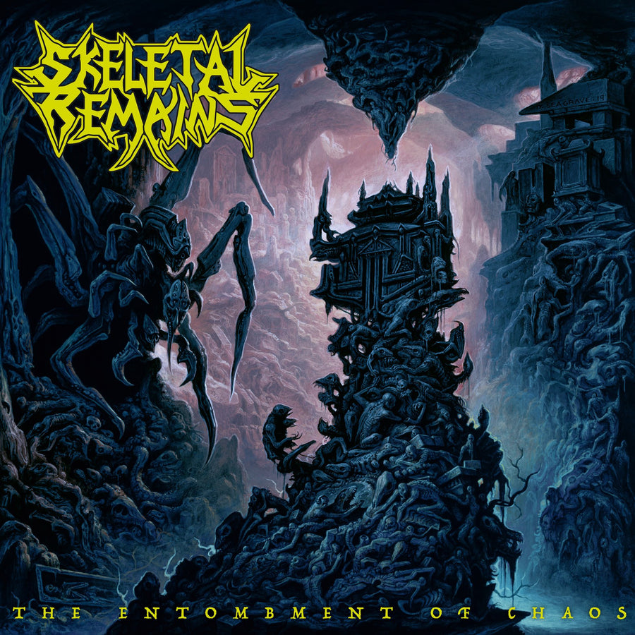 "SKELETAL REMAINS ""The Entombment Of Chaos"" CD"