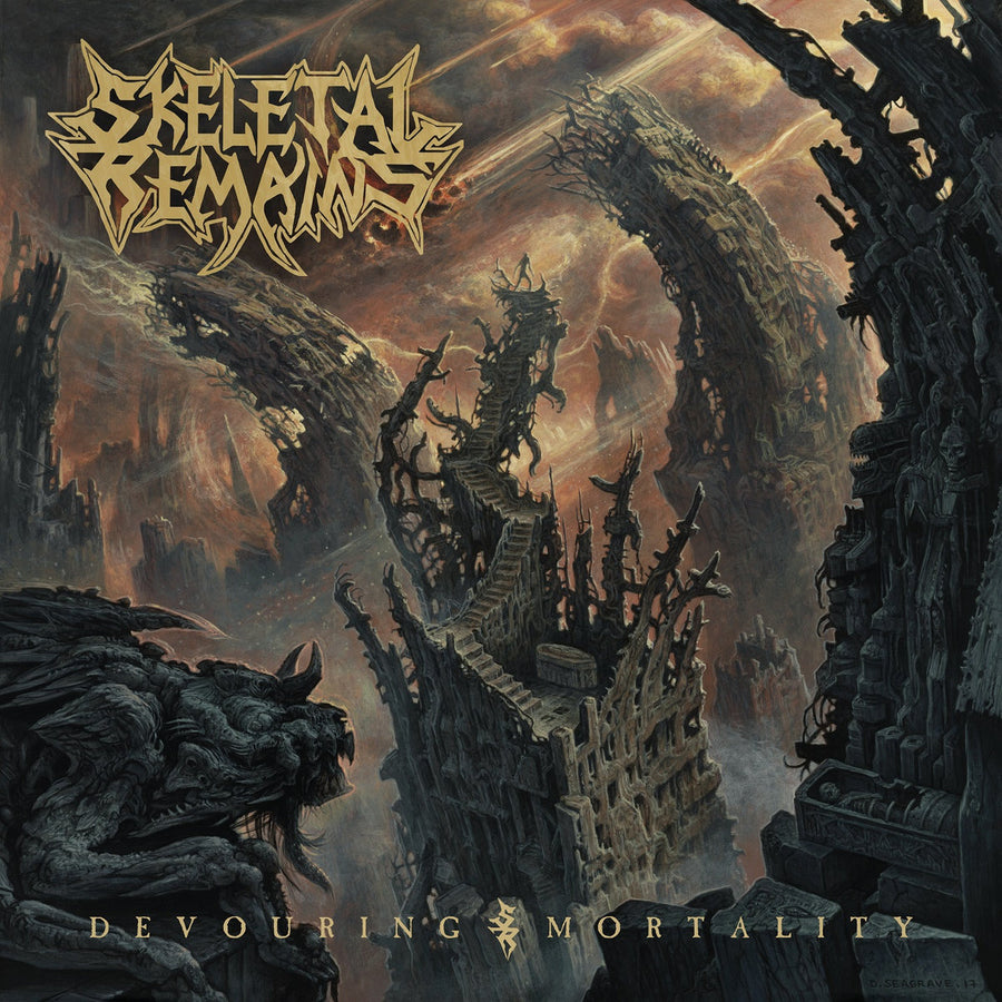 "SKELETAL REMAINS ""Devouring Mortality"" LP"