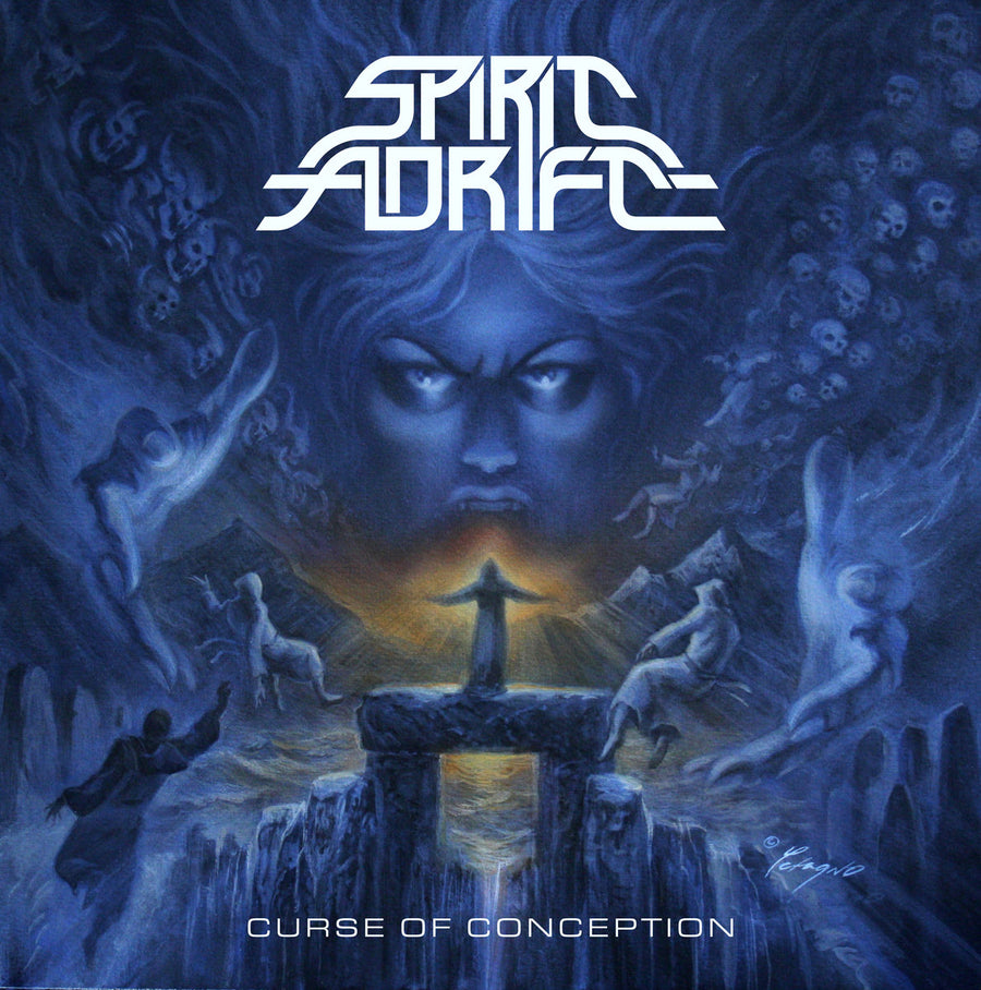 "SPIRIT ADRIFT ""Curse of Conception"" CD"