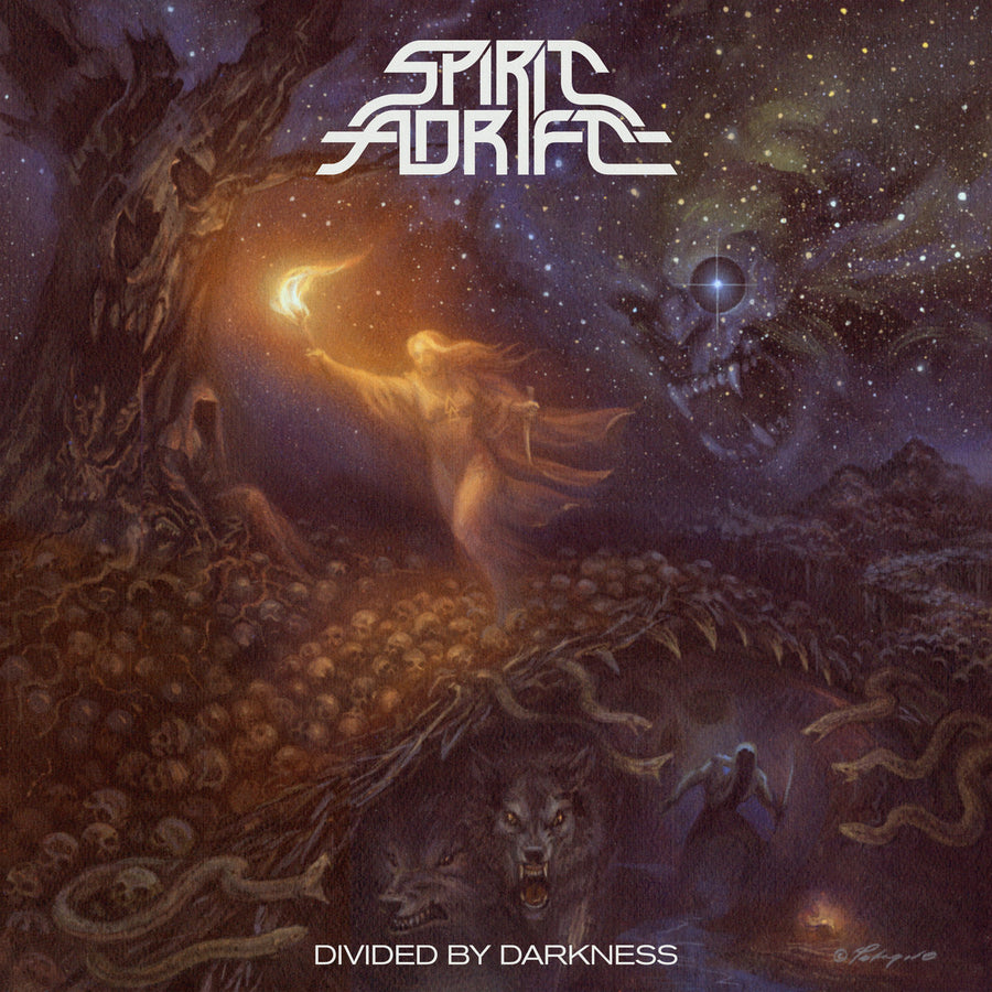 "SPIRIT ADRIFT ""Divided By Darkness"" CD"