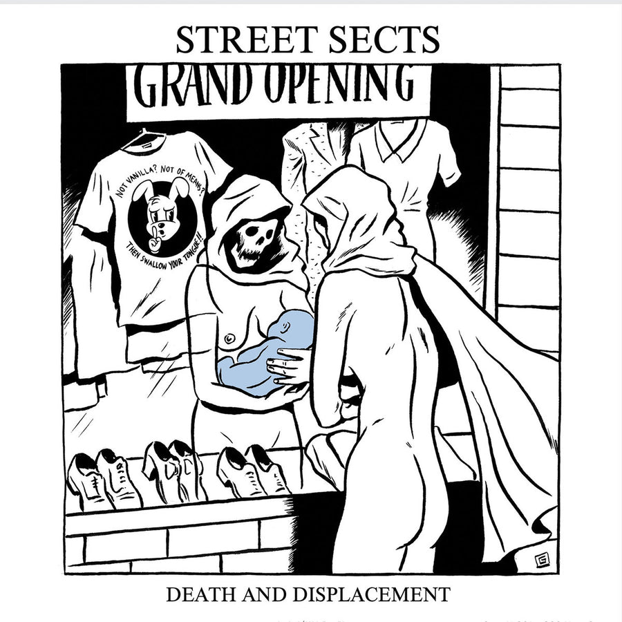 "STREET SECTS ""Gentrification III: Death And Displacement"" 7"""