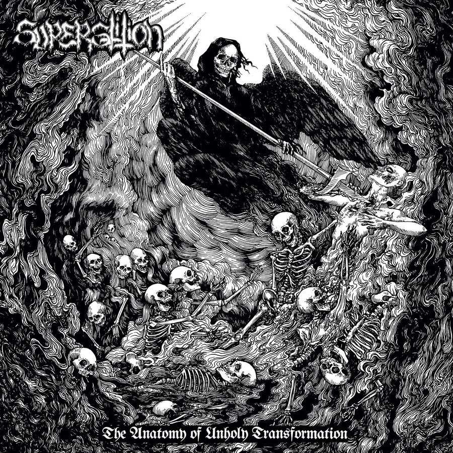 "SUPERSTITION ""The Anatomy of Unholy Transformation"" LP"
