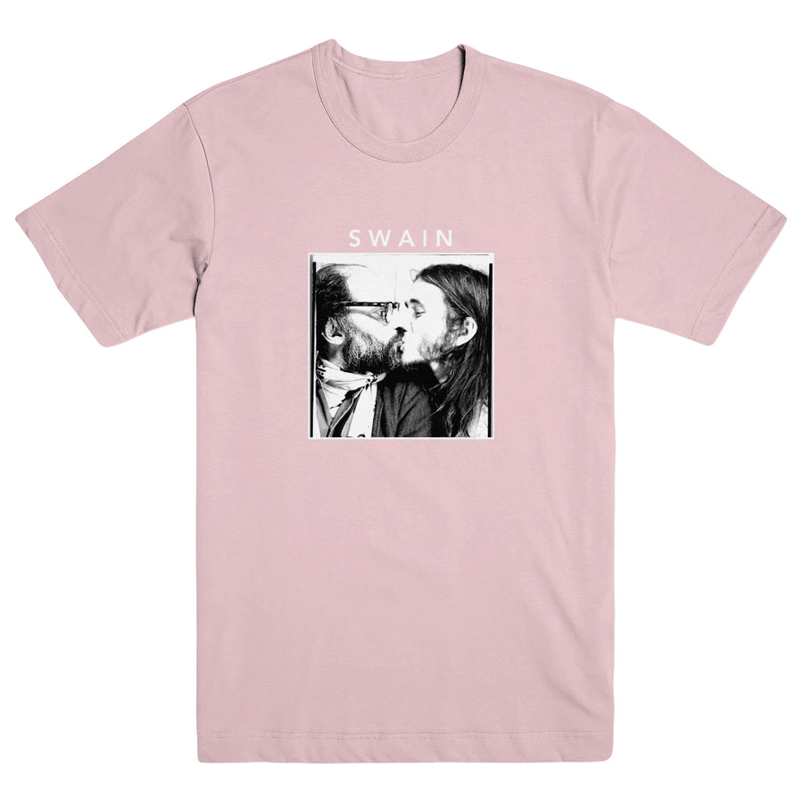 "SWAIN ""Kissing Ginsberg Pink"" T-Shirt"