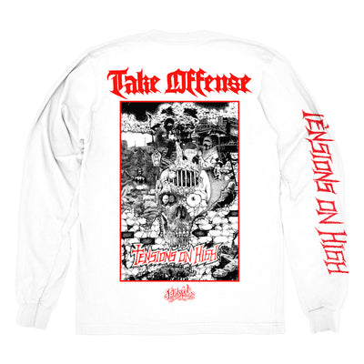 "TAKE OFFENSE ""Tensions"" Longsleeve"