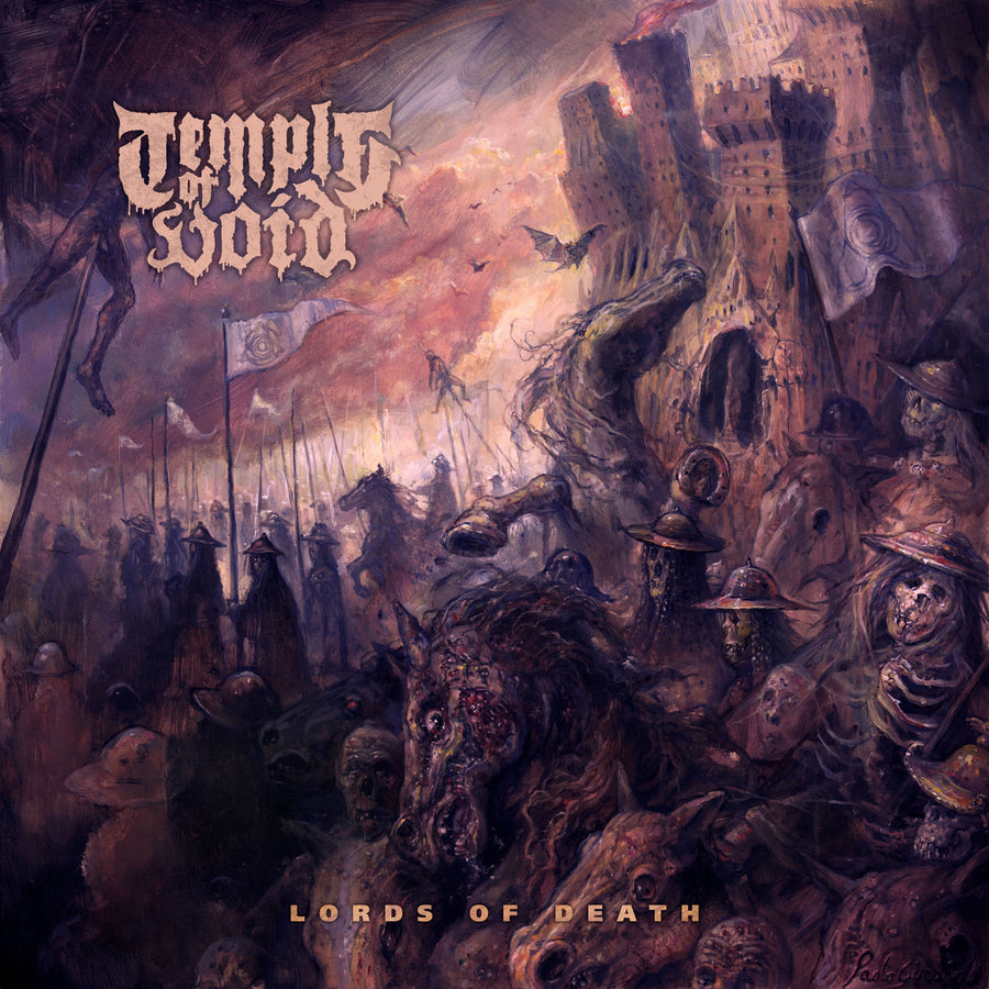 "TEMPLE OF VOID ""Lords Of Death"" LP"