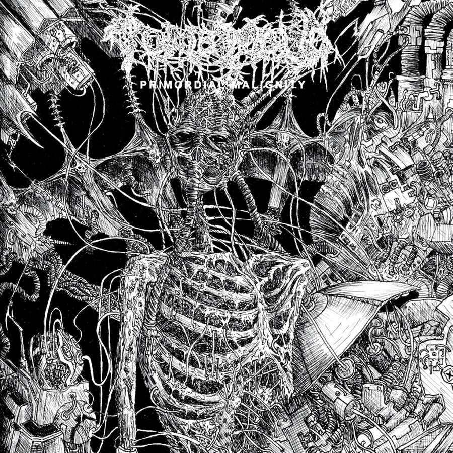 "TOMB MOLD ""Primordial Malignity"" LP"