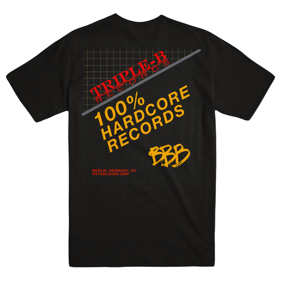 "TRIPLE B RECORDS ""100% Hardcore"" T-Shirt"