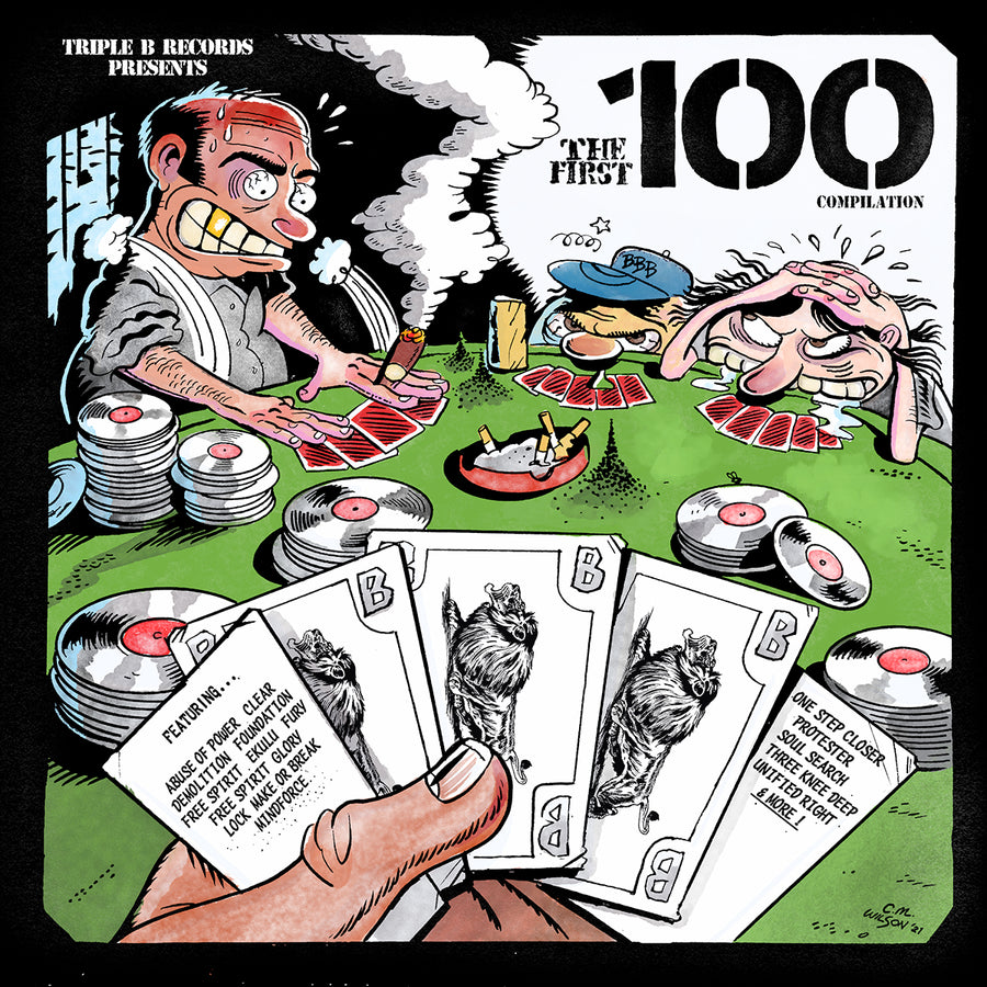 "TRIPLE B RECORDS ""The First 100"" 2xLP"