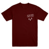 "TWIN RED ""Knife Burgundy"" T-Shirt"