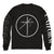 "UNIFORM ""Cross Circle Black"" Longsleeve"