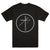 "UNIFORM ""Cross Circle Black"" T-Shirt"