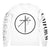 "UNIFORM ""Cross Circle White"" Longsleeve"