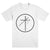 "UNIFORM ""Cross Circle White"" T-Shirt"