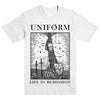"UNIFORM ""Life In Remission"" T-Shirt"