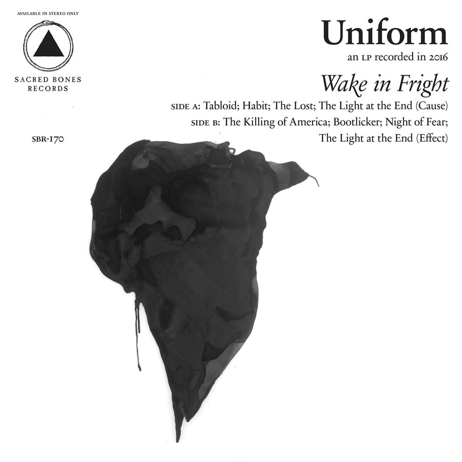 "UNIFORM ""Wake In Fright"" LP"
