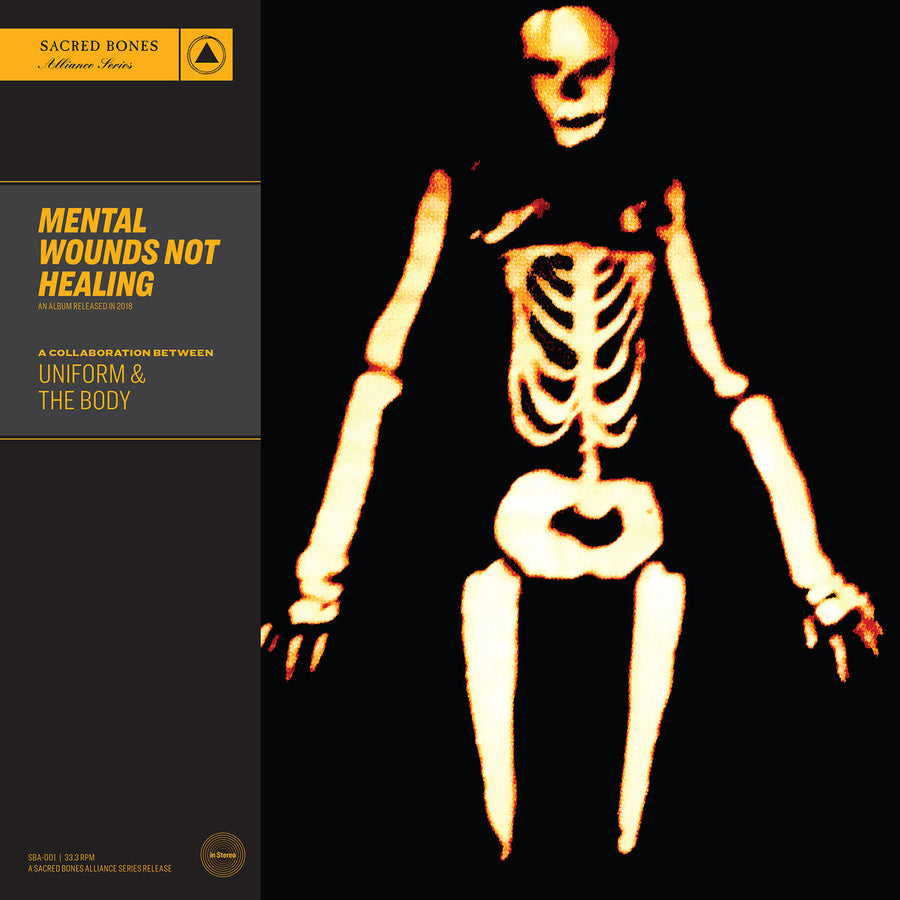 "UNIFORM & THE BODY ""Mental Wounds Not Healing"" LP"