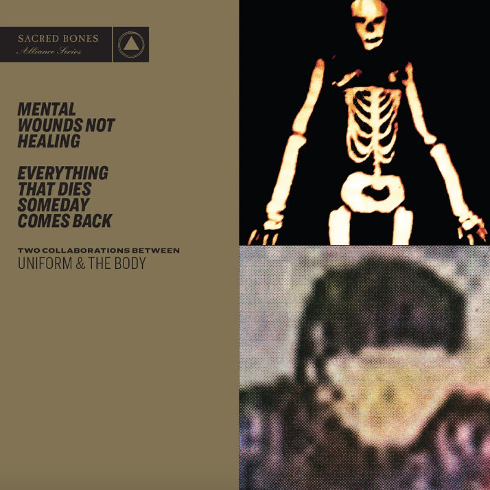 "UNIFORM & THE BODY ""Mental Wounds Not Healing/Everything That Dies Someday Comes Back"" CD"