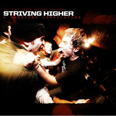 "VARIOUS ARTISTS ""Striving Higher: A Hardcore Compilation"" LP"