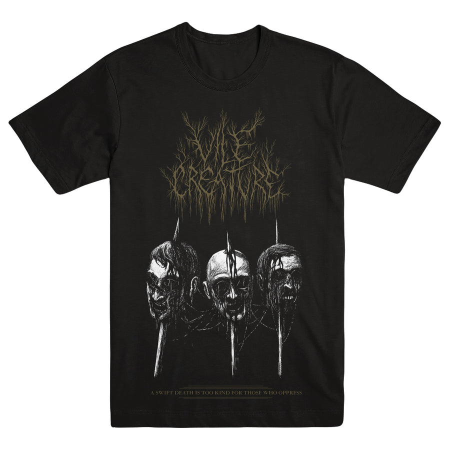 "VILE CREATURE ""A Swift Death"" T-Shirt"