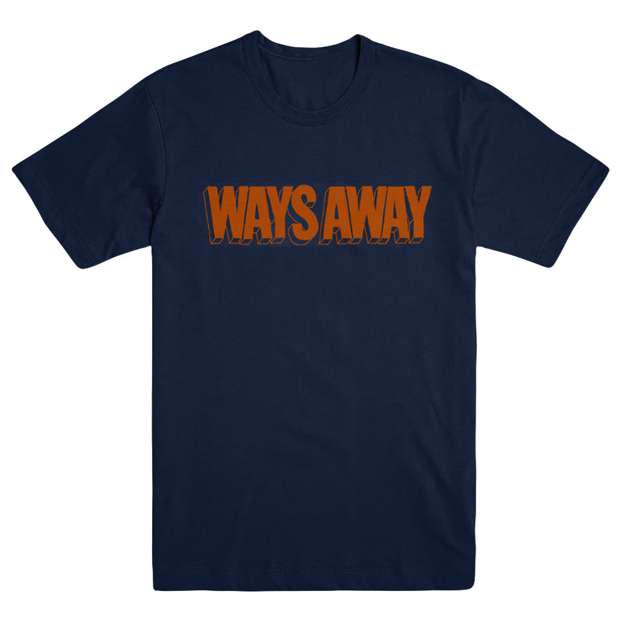 "WAYS AWAY ""Box Logo"" T-Shirt"