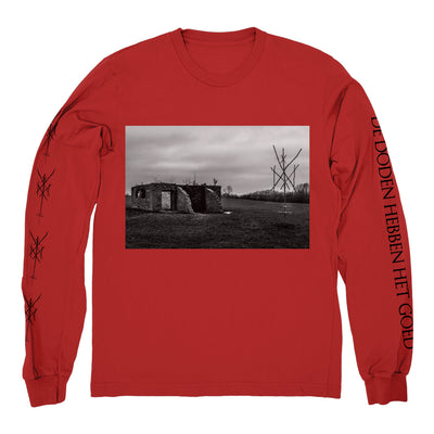 "WIEGEDOOD ""Album Cover Red"" Longsleeve"