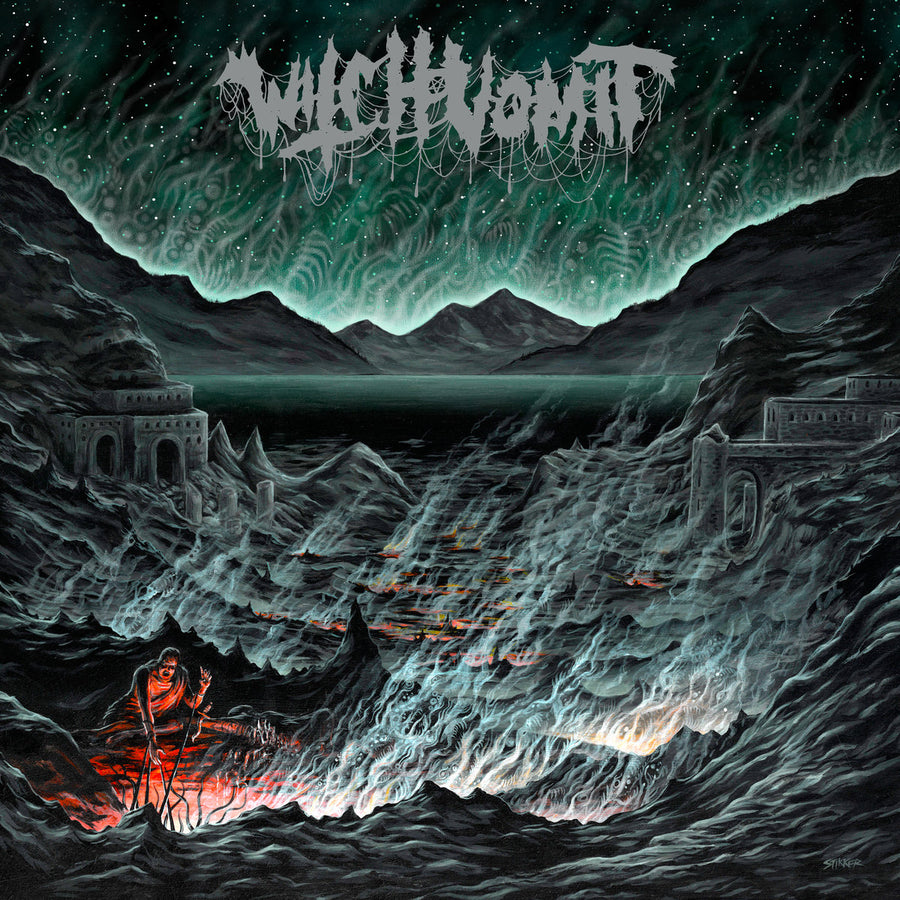 "WITCH VOMIT ""Buried Deep In A Bottomless Grave"" LP"