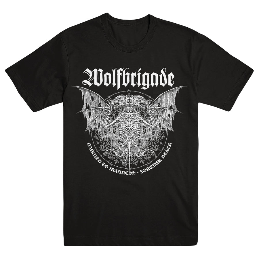 "WOLFBRIGADE ""Damned To Madness"" T-Shirt"