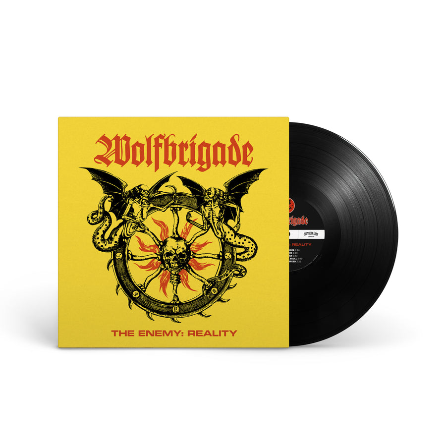 "WOLFBRIGADE ""The Enemy: Reality"" LP"