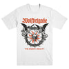 "WOLFBRIGADE ""The Enemy: Reality White"" T-Shirt"