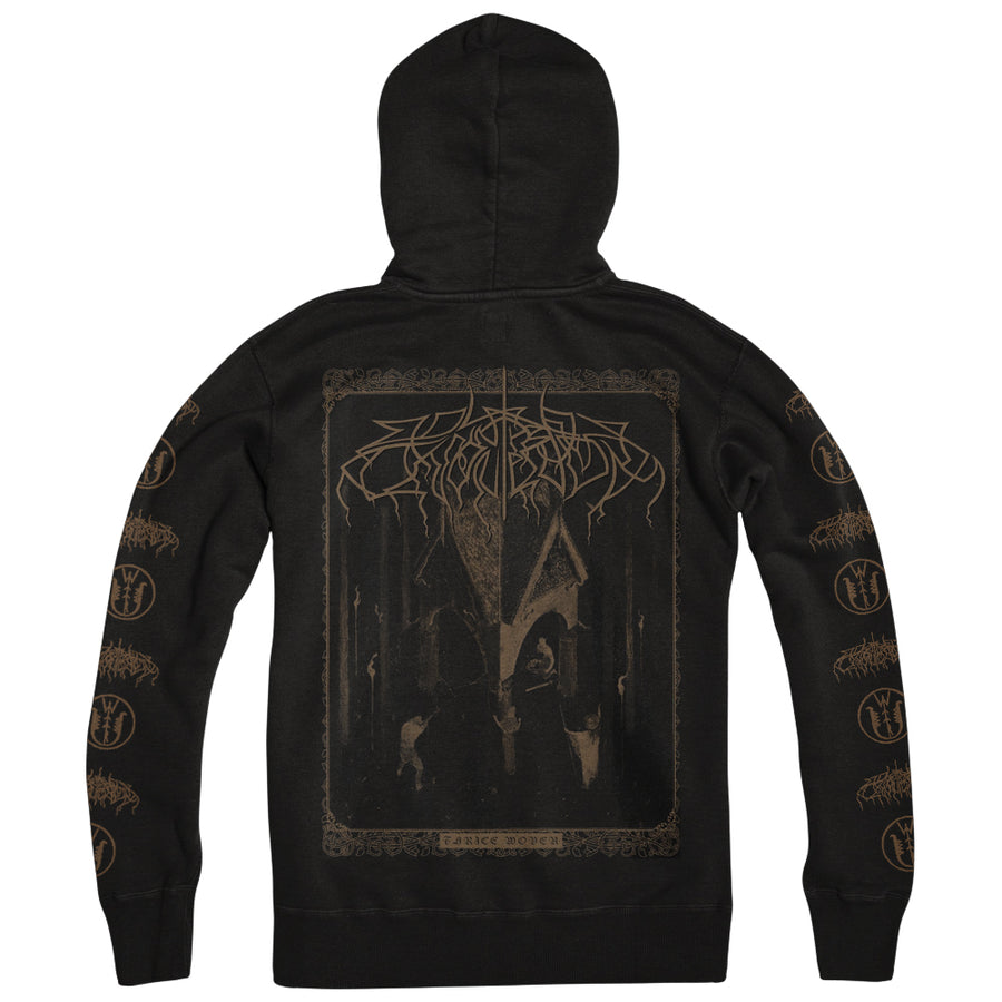 "WOLVES IN THE THRONE ROOM ""Thrice Woven"" Zipper"