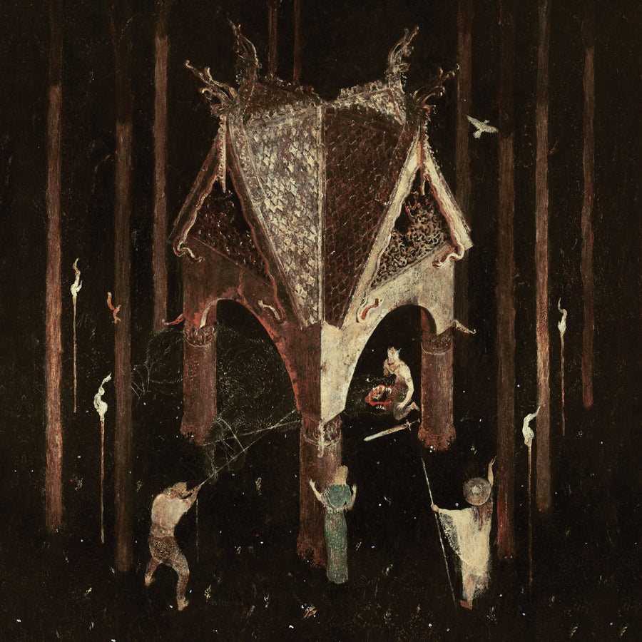 "WOLVES IN THE THRONE ROOM ""Thrice Woven"" CD"