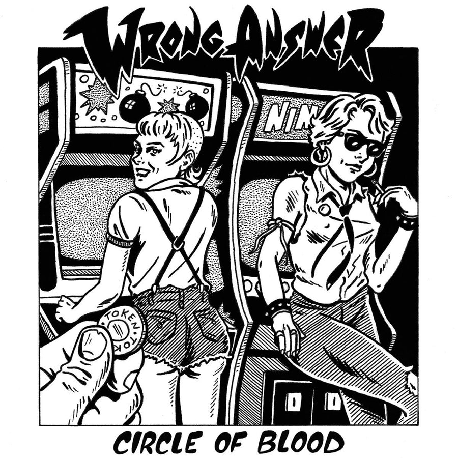 "WRONG ANSWER ""Circle Of Blood"" LP"