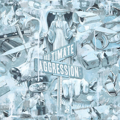"YEAR OF THE KNIFE ""Ultimate Aggression"" LP"