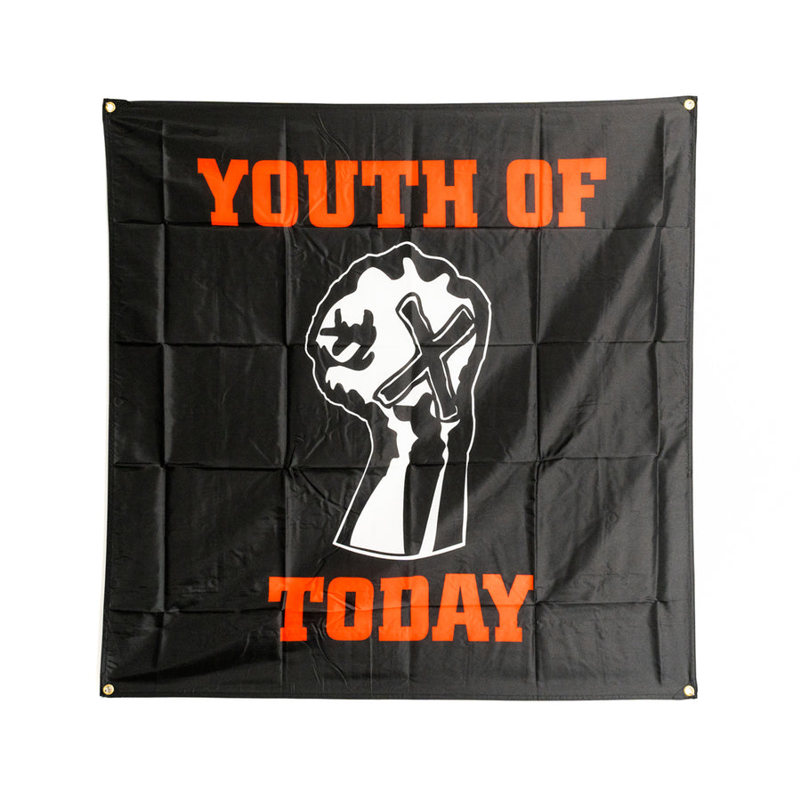 "YOUTH OF TODAY ""Fist"" Flag"