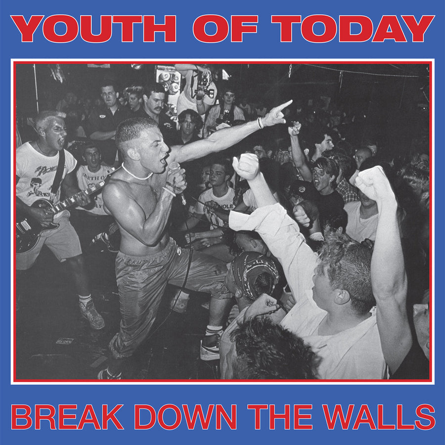 "YOUTH OF TODAY ""Break Down The Walls"" LP"