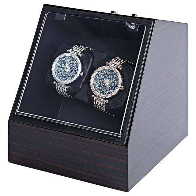 Automatic Watch Winder Display Box Wood Look
