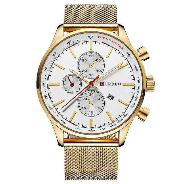 CURREN Luxury Stainless Steel Watch