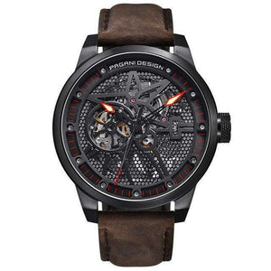 PAGANI DESIGN Classic Skeleton Mechanical Watch