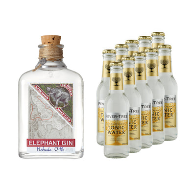 Elephant London Dry Gin 500ml & Fever-Tree Tonic
