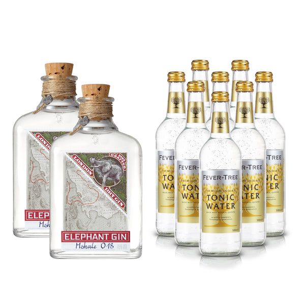Elephant London Dry Gin 500ml & Fever-Tree Tonic XL