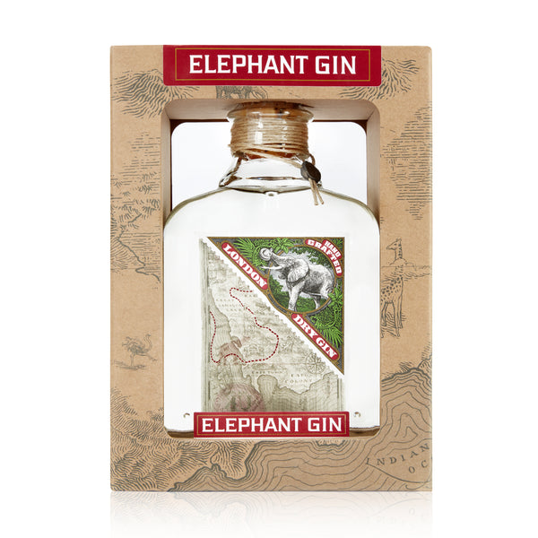 Elephant London Dry Gin in Geschenkbox